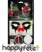 Kit pour maquillage de clown tueur, image 6