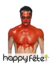 Kit pour maquillage de diable rouge au latex, image 2