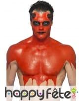 Kit pour maquillage de diable rouge au latex, image 3