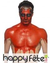 Kit pour maquillage de diable rouge au latex, image 4