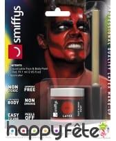 Kit pour maquillage de diable rouge au latex, image 7
