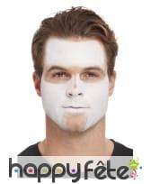 Kit pour maquillage visage de squelette pailleté, image 1