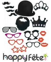 Kit photobooth style anglais et fantaisie