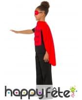 Kit rouge de super héros musclé pour enfant, image 1