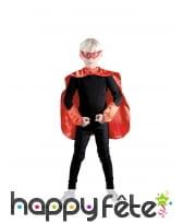 Kit rouge de super héros pour enfant