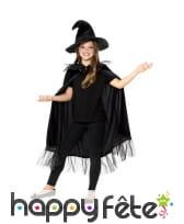 Kit scintillant noir de petite sorcière