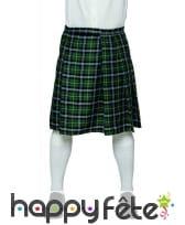 Kilt vert écossais pour homme