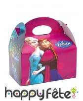 Lunch box La Reines des Neiges en carton