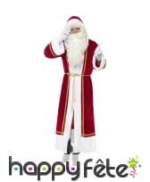Luxueuse cape de père Noel