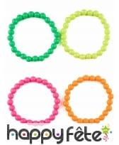 Lot de 4 bracelets multicolores pour adulte