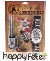 Lot de 5 accessoires pour petit cow-boy, image 1