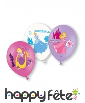 Lot de 6 ballons des Princesses Disney, 28 cm