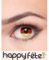 Lentille drapeau Allemand