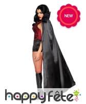 Luxueux déguisement de femme vampire pour adulte, image 1