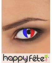 Lentilles drapeau francais, image 1