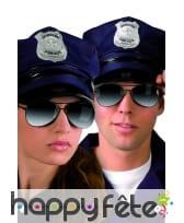 Lunettes de police miroir uv400