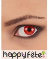 Lentilles fond rouge