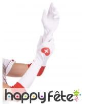 Longs gants d'infirmière pour adulte