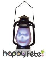 Lanterne Halloween sonore de 30cm