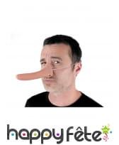 Long Nez de Pinocchio en plastique mou, image 1