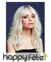 Longue perruque blond clair wavy