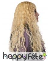 Longue perruque blonde ondulée pour enfant, image 2