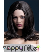 Longue perruque brune de 43cm. Sophia
