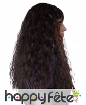 Longue perruque brune ondulée pour enfant, image 1