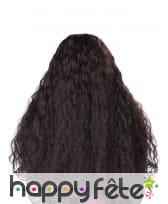 Longue perruque brune ondulée pour enfant, image 2
