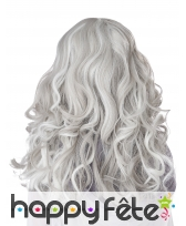 Longue perruque grise phosphorescente pour enfant, image 2