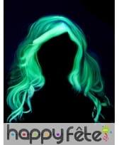 Longue perruque grise phosphorescente pour enfant, image 3