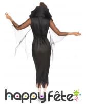 Longue robe cintrée araignée à grand col, image 3