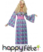 Longue robe d'hippie