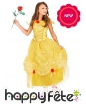 Longue robe de belle pour enfant