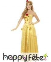 Longue robe de Belle pour femme adulte, image 1