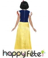 Longue robe de blanche neige pour femme adulte, image 1