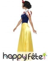 Longue robe de blanche neige pour femme adulte, image 2