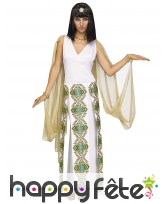 Longue robe de Cléopâtre pour femme