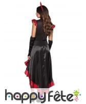 Longue robe de diablesse flamenco, image 1