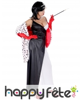 Longue robe de femme cruelle pour adulte, image 2