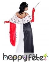 Longue robe de femme cruelle pour adulte, image 3
