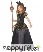 Longue robe de la méchante reine pour enfant, image 1