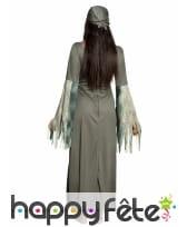 Longue robe de pirate rayée fantomatique, adulte, image 1