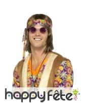 Lunettes rondes de style hippie, image 1