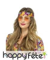 Lunettes rondes de style hippie, image 3