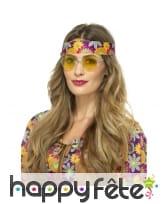 Lunettes rondes de style hippie, image 4