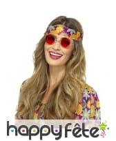 Lunettes rondes de style hippie, image 5