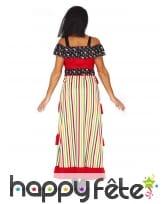 Longue robe jour des morts pour femme, image 1
