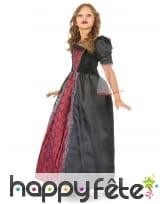 Large robe noire et rouge de petite vampiresse, image 1