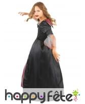 Large robe noire et rouge de petite vampiresse, image 2